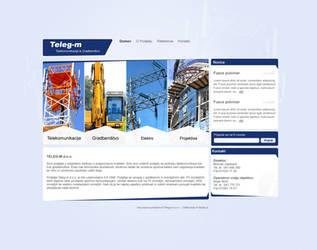 Teleg-m website concept by Tyzyano