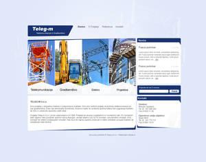 Teleg-m website concept