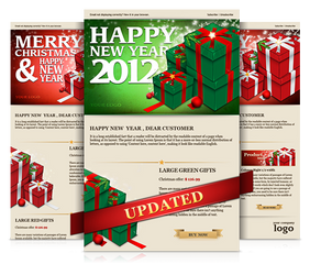 Gift box Email Template by Tyzyano