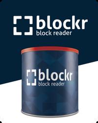 Blockr.io sticker#1 by Tyzyano