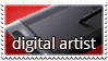 Stamp-DigitalArtist by PVprojectResources