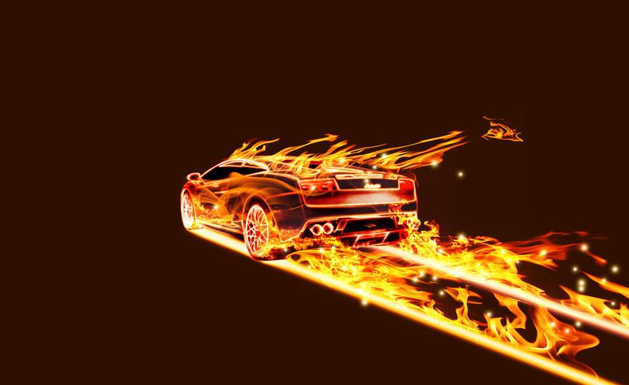 Toyota Mark2 JZX90 JDM Fire Drift Car 2014 | El Tony