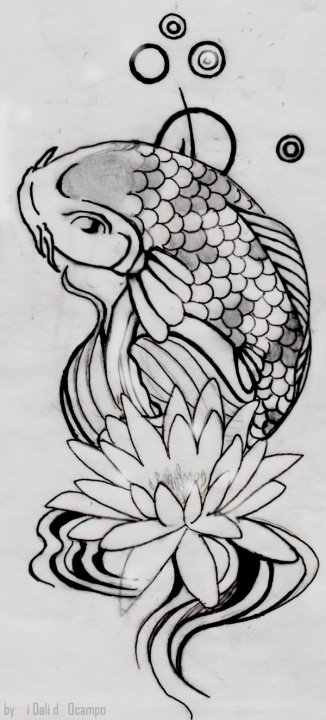 How To Draw A Koi Fish LONG HAIRSTYLES