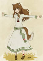 Horo's dress by Kurysu