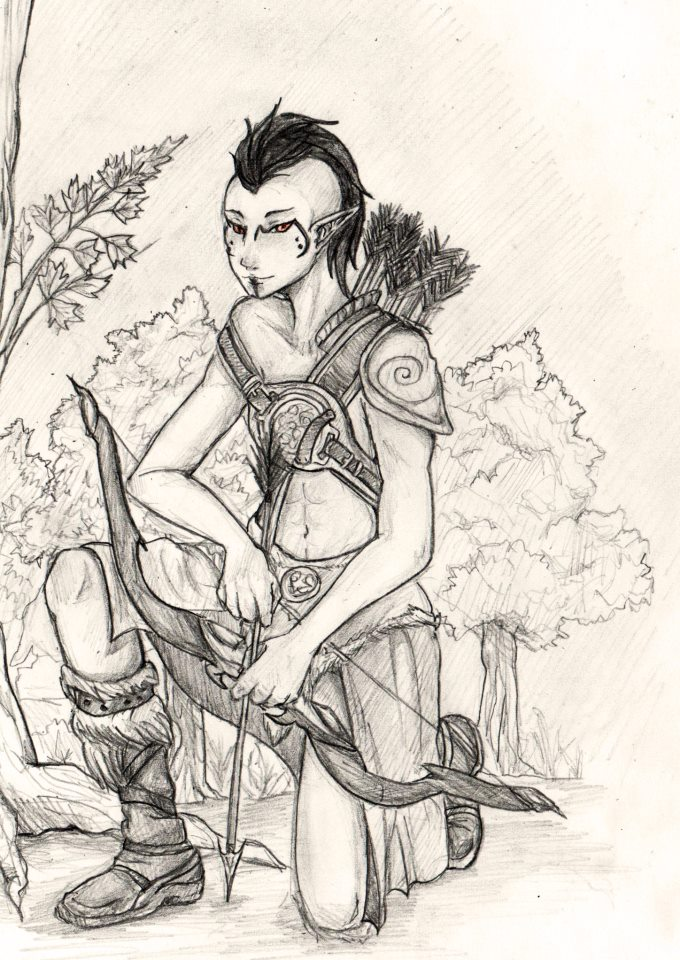 The Hunter by Kurysu