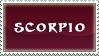 Western Zodiac-Scorpio I by InfiniteIterations