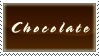Foodie Stamp-Chocolate by InfiniteIterations