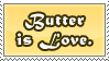 Butter Stamp by InfiniteIterations