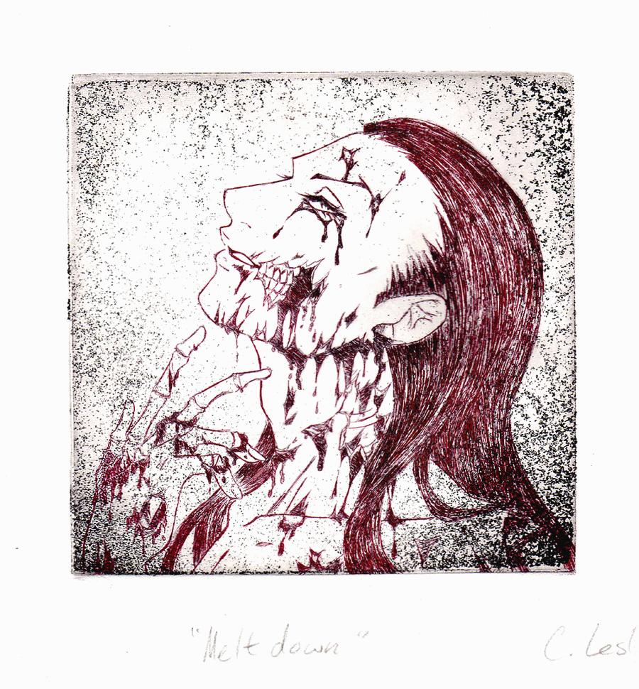 Gory Meltdown - Mono by Meiseki