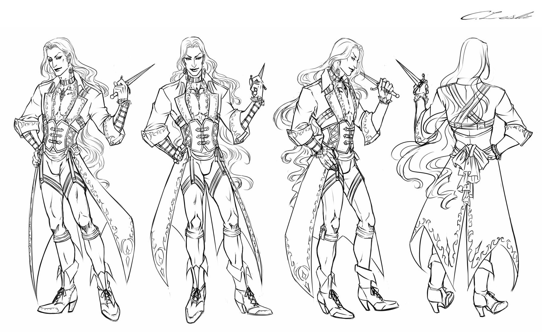 Male Character Design Sheet : Silas talbot character sheet by meiseki on deviantart