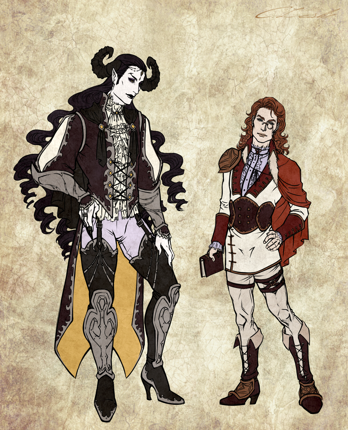 Faust + Mephistopheles Character Reference