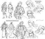 Faust + Mephistopheles - Alternate Costumes