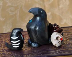 Goth Ravens by Meiseki