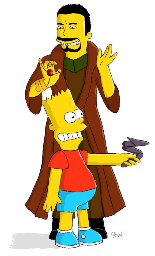 If You Give a Bart a Zat Gun.. by Elemental-Bubblegum