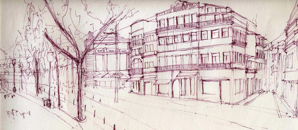 Sketching Oporto by Pamproject