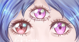 Lilith [eye commission] by day-tunes