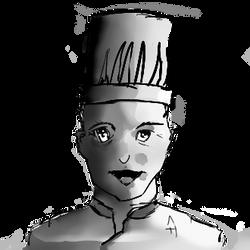 tete de Cuisinier / Cook chef's head