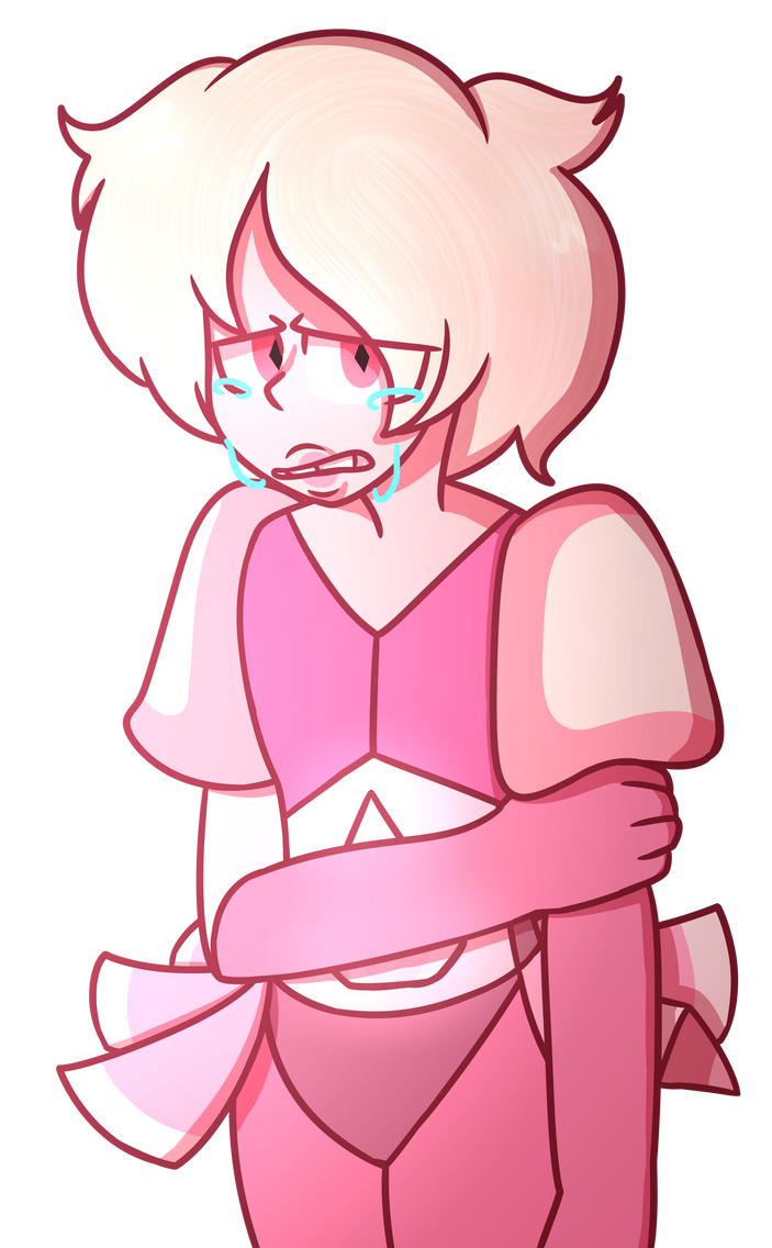 Have I never posted anything about Steven Universe? I'm a bad fan- I wanted to try colored lines since I haven't done that in a while. So have this sad little Pink Diamond -v- Pink Diamond belongs ...