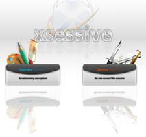 Xsessive Splash page by olivierxsessive
