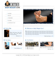 Body Weight Gym by olivierxsessive