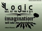Typography - Imagination Quote