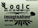 Typography - Imagination Quote