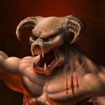 Hell Knight from Doom