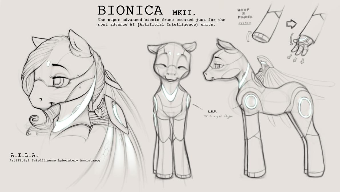 Bionica MkII A.I.L.A. ver. by Legacy350