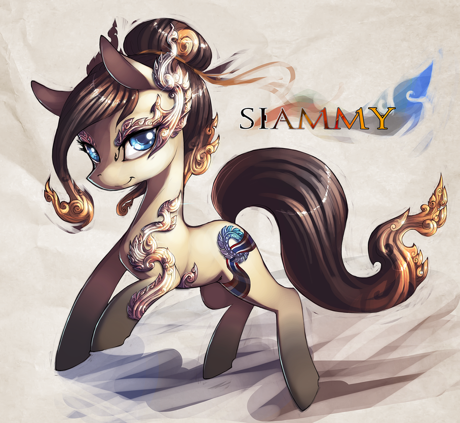 Siammy by Legacy350