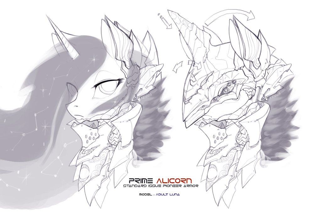 Prime Alicorn armor concept by Legacy350