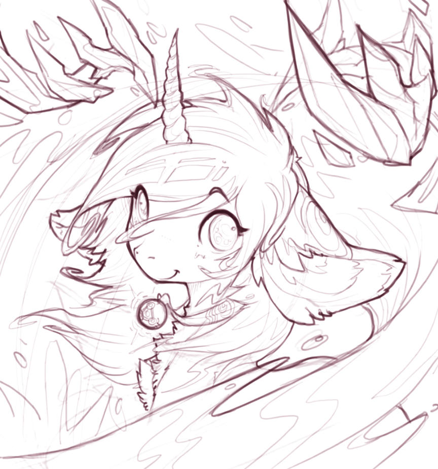 Nara Mismoria (sketch) by Legacy350