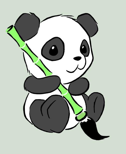 Images Of Panda Paintings