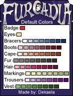 Furcadia Default Color Help by Dekae
