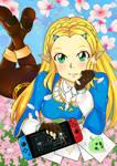 Princess Zelda from Breath of the wild ( botw )