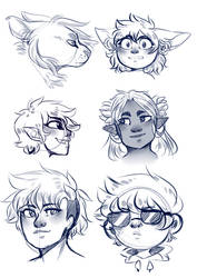 Sketches by Pointou