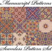 Manuscript patterns set by lisekool