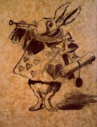 Caroll's Rabbit by JuliettaK