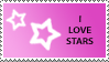 Star Stamp Purple by cats-aint-waterproof