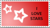 Star Stamp Red by cats-aint-waterproof
