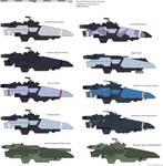 GPN Defender class Escort Variants