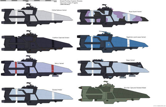 GPN Vexonis class Frigate Variants