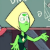 Peridot Shrug Emoticon