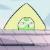 Peeking Peridot Emoticon