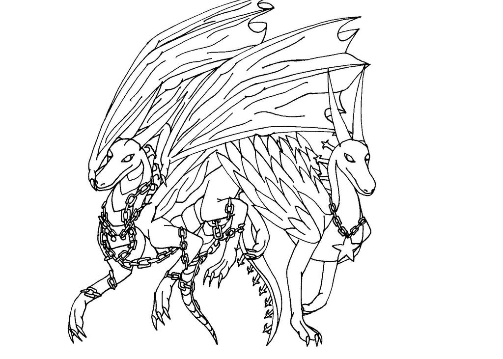 Oathkeeper and Oblivion dragonized by Kyuubidragon91 on ...