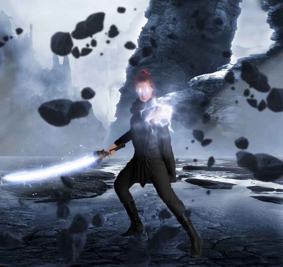 Black Swordswoman