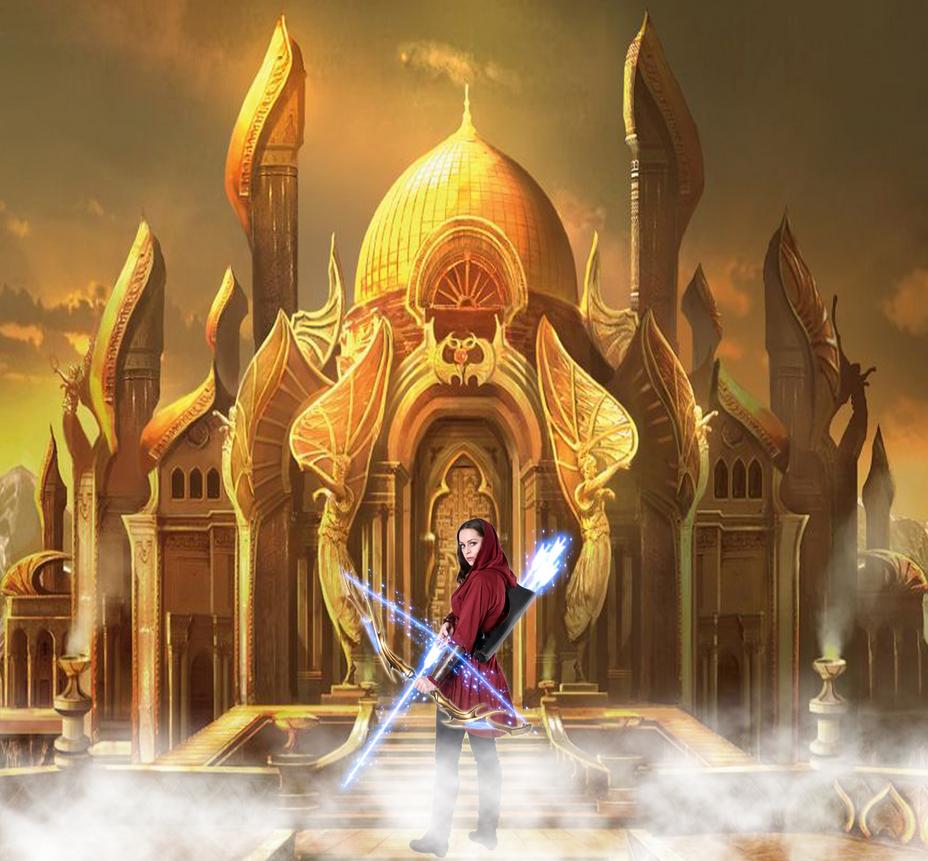 Female Bow 2 Warrior by Kingstar24