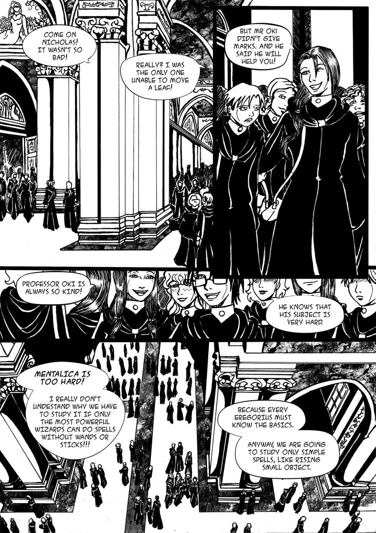 The Dark Artifact Chapter 2 - Page  6 by Enoa79