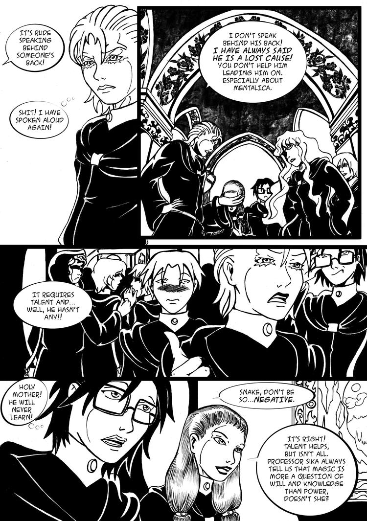 The Dark Artifact Chapter  2 - Page 8 by Enoa79