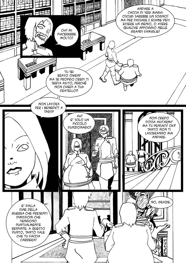 L'Opera Nera Capitolo 4 pag. 40 by Enoa79