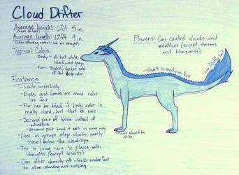 Cloud Drifter Species [Open]